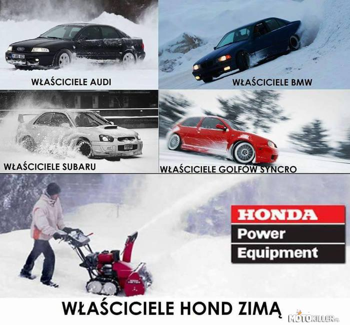 Honda the power of manual handbrake – Potwierdzam!