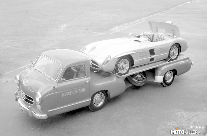 Mercedes Benz Renntransporter –