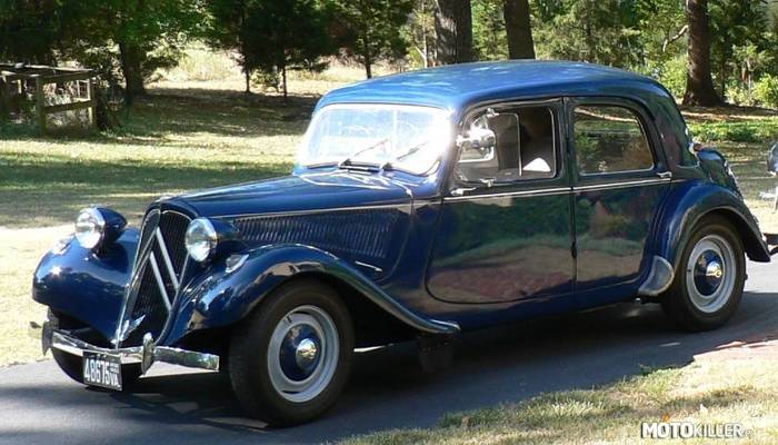 Citroen Traction Avant Legere –