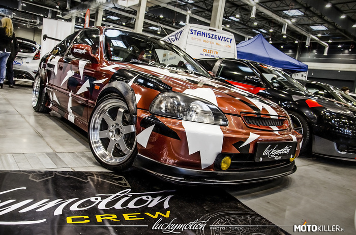 Honda Civic EJ6 Coupe Luckymotion –