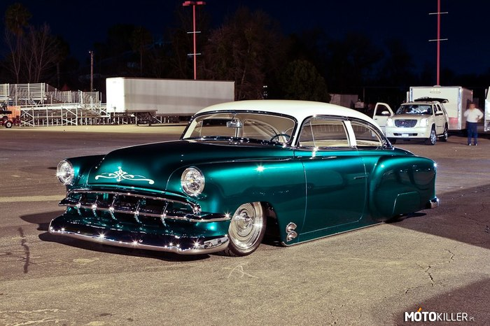 Chevrolet Bel Air Custom Coupe 1954 –