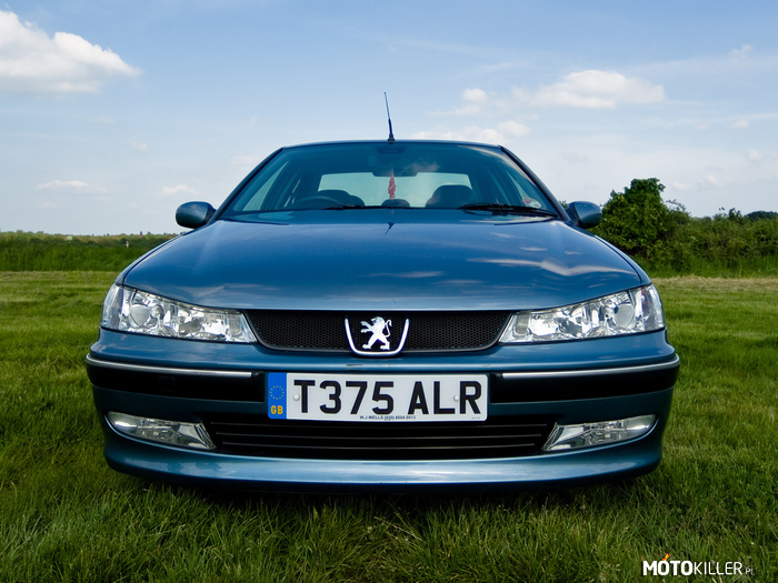 Peugeot 406 – Mr. Angry
