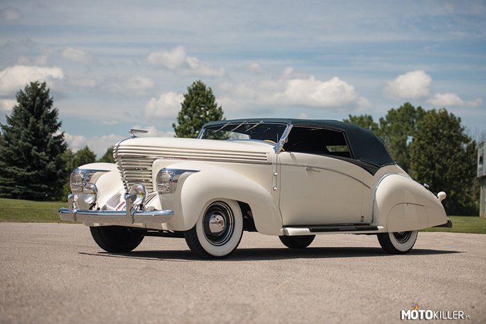 Graham Model 97 Supercharged Cabriolet 1938 –