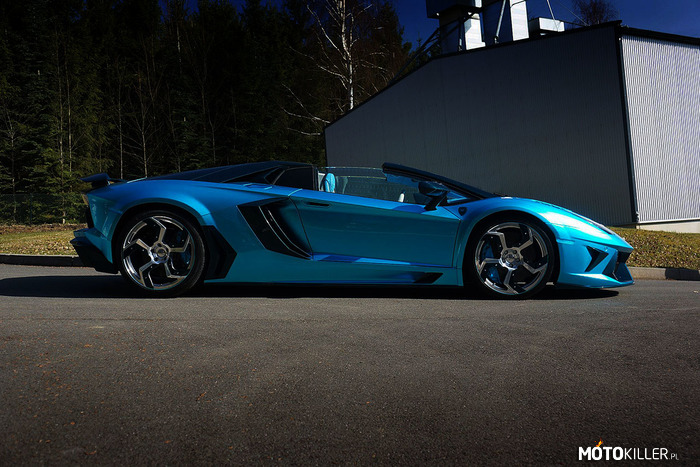 Lamborghini Aventador Roadster First Emperor by Mansory –
