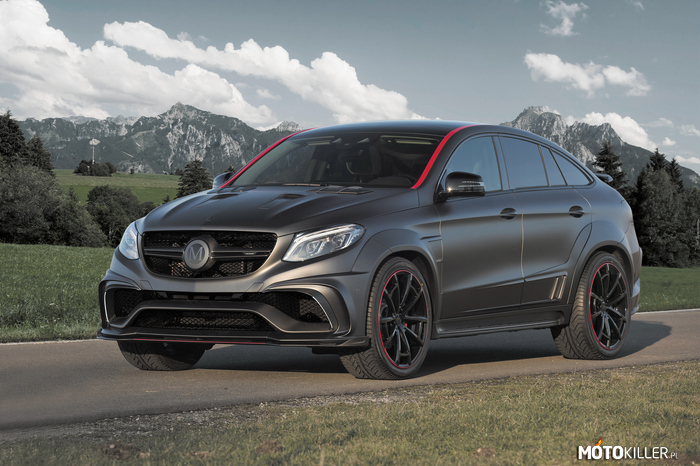 Mansory Mercedes-Benz GLE 63 AMG Coupe –