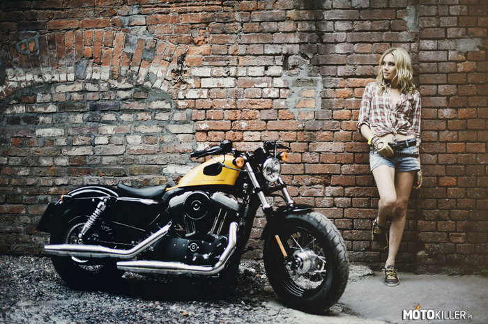 Harley Davidson Forty Eight Cafe Racer –
