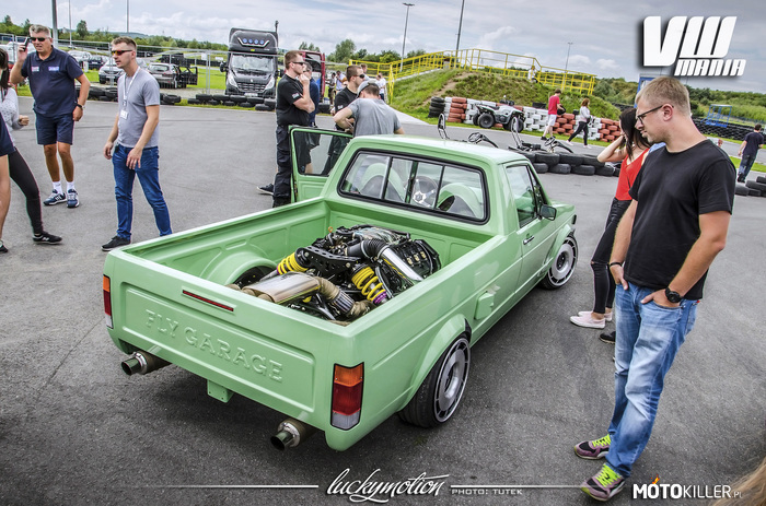VW Caddy V8 –