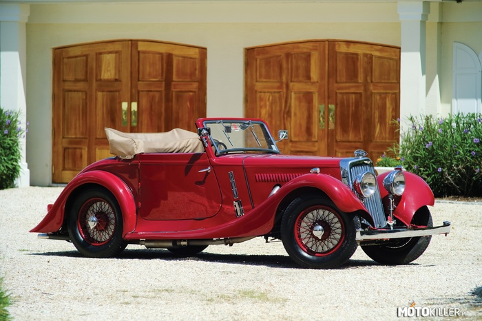 Aston Martin 15-98 Coupe 1937 –