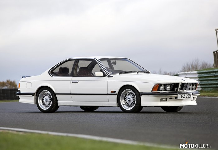 BMW M635 CSi UK-spec (E24) –