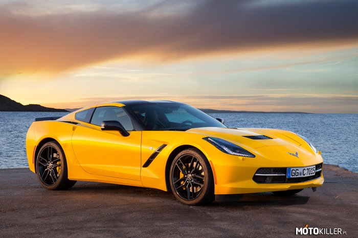 Chevrolet Corvette Stingray Coupe EU-spec (C-7) 2013 –