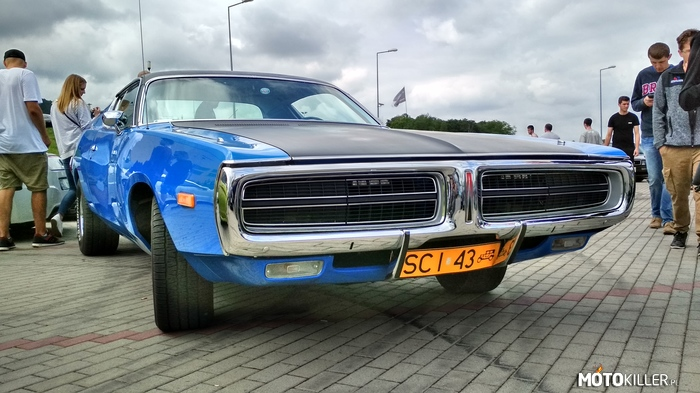 Dodge Charger 1972 – https://www.facebook.com/MuscleCarsPolska/ Moto Show BB