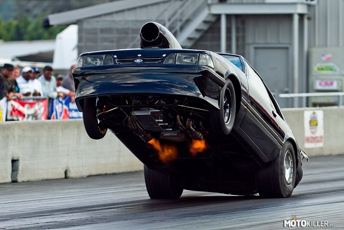 Mustang fox body wheelie –