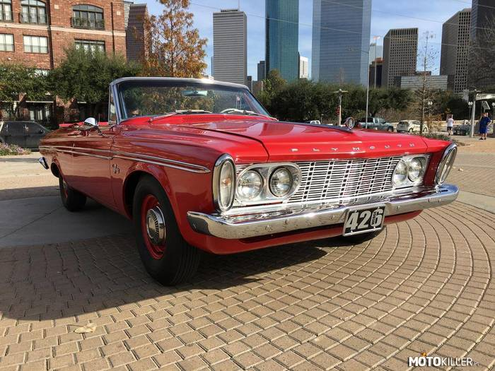 Plymouth Fury 426 –