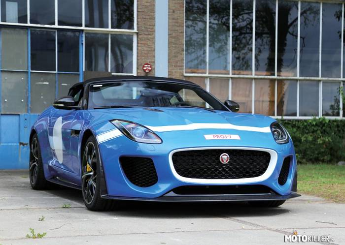 Jaguar F-Type Project 7 –