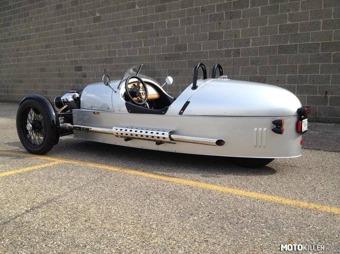 Morgan Three-Wheeler Silver Arrow –