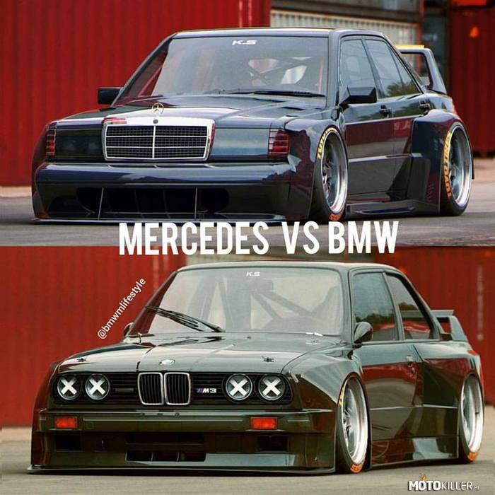 BMW vs MERCEDES –