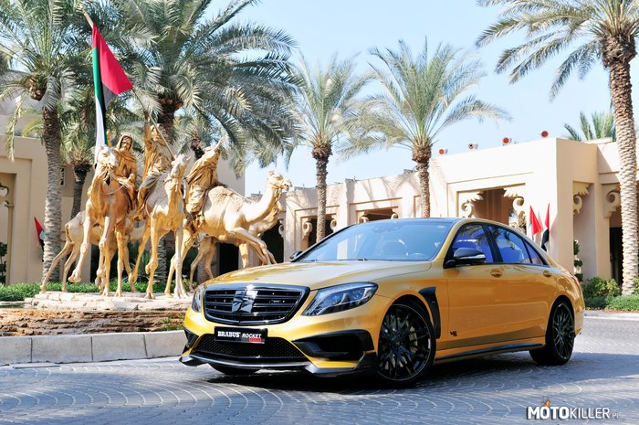 Brabus Mercedes Benz Rocket 900 Desert-Gold W222 2015 –