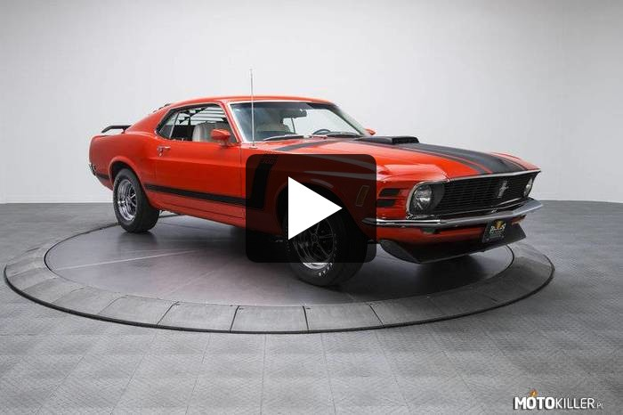 Ford Mustang Boss 302 –