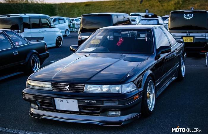 Toyota Soarer (GZ20) – 1988 r. 1G-GTEU 2.0L twin turbo 210 KM 275 Nm RWD