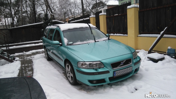 Nowy Projekt VanGarage – V70R Flash Green Miętówka vol.2