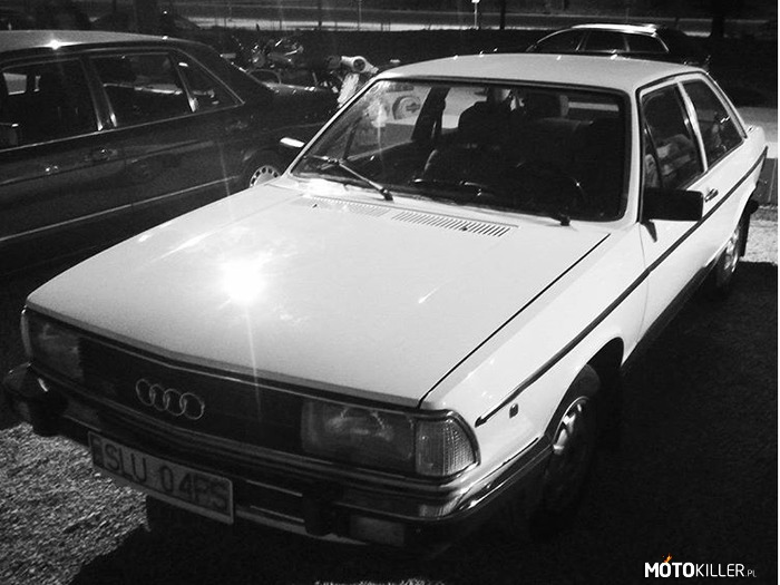 Audi 100 – youngtimer warsaw