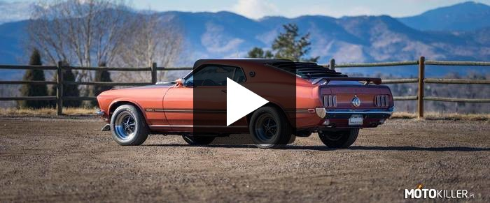 Ford Mustang Mach I 428 Cobra Jet –