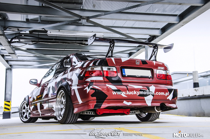 Honda Civic EJ6 Coupe by Luckymotion –