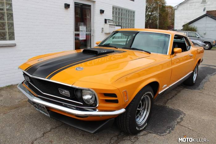 Ford Mustang Mach 1 Super Cobra Jet –