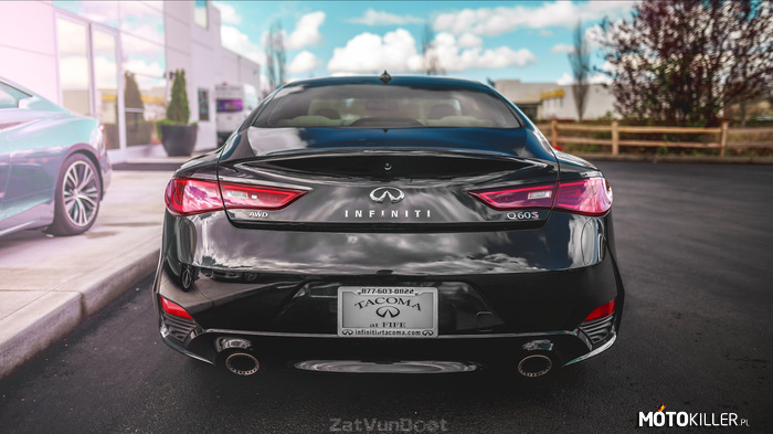 Infiniti Q60 – AWD 3.0L twin turbo 405 KM