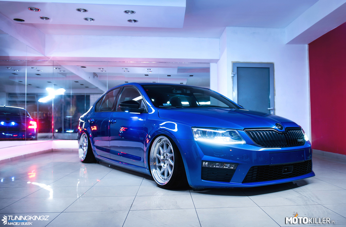 Japan Racing 26 Octavia 3 RS – Wiosenny setup Skoda Octavia 3 RS w kolorze Race Blue?