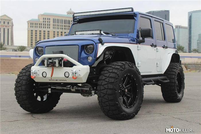 Jeep Wrangler UNLIMITED CUSTOM –
