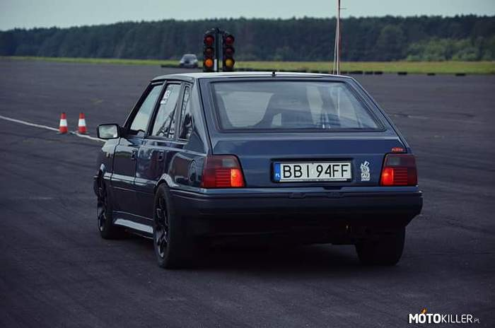 Polonez Drag Race – Polonez Turbo ( YT - 12.09 Performance )