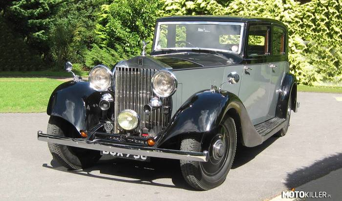 Rolls-Royce 20/25 Sports Saloon –