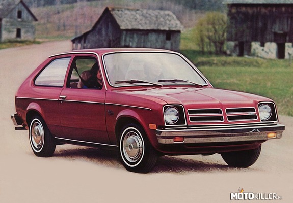 Chevrolet Chevette 3-door US-spec 1975-77 –