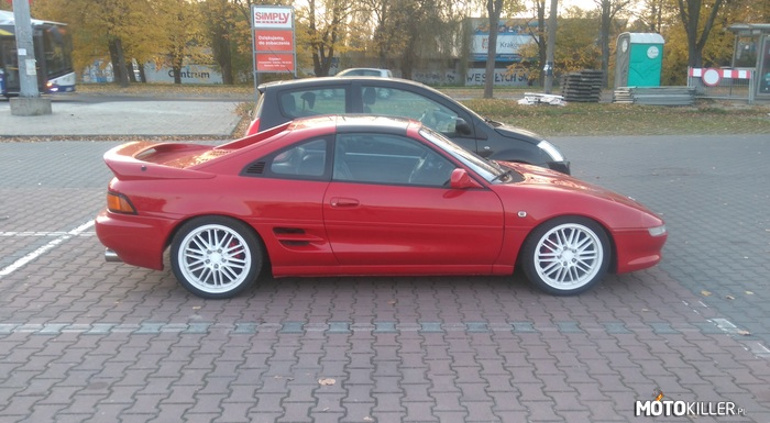 Moja MR2 – 1991 r., 2.0 3SGE 156 km