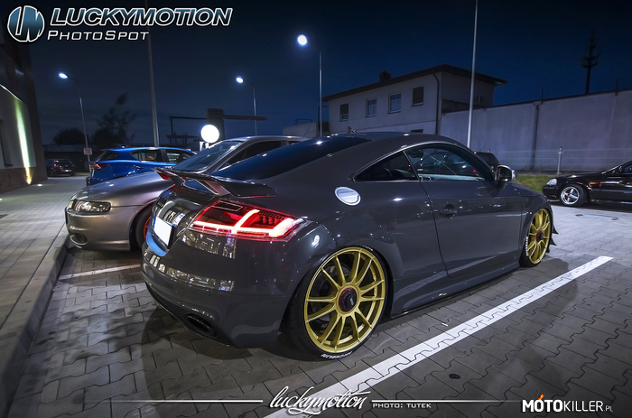 Audi TTRS Luckymotion –
