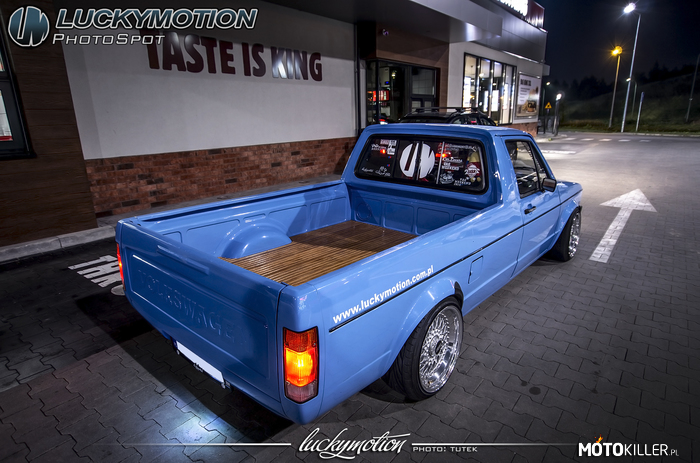 Volkswagen Caddy MK I Luckymotion –