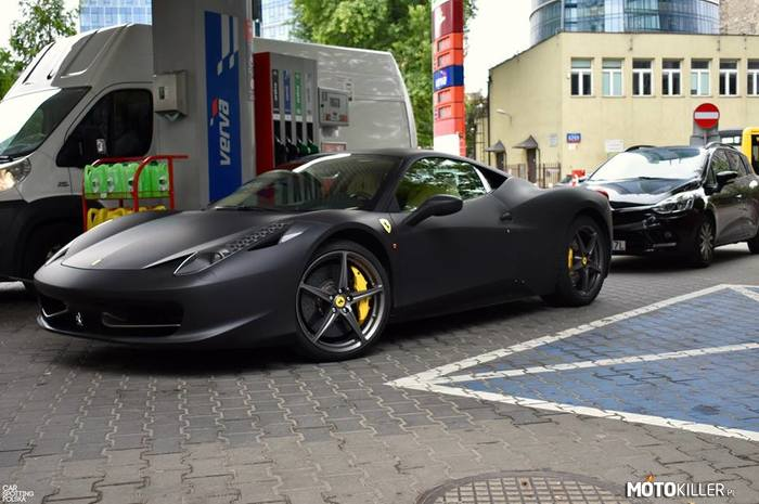 458 Italia – Car Spotting Polska