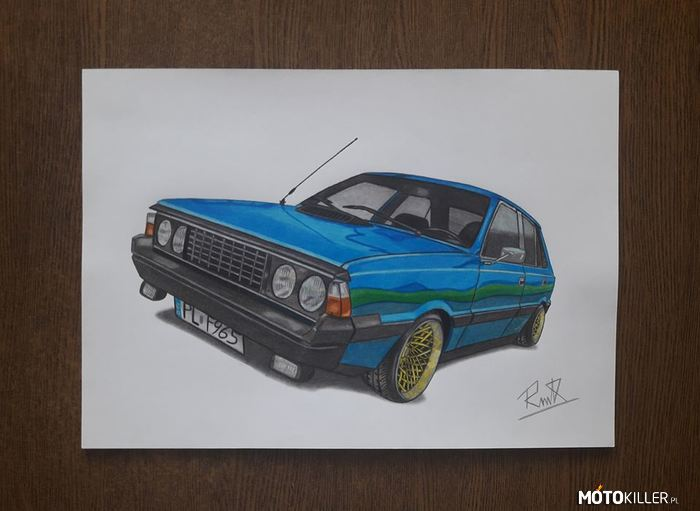 Borewicz – Fso Polonez Borewicz  Facebook - Car Drawing by Mek
