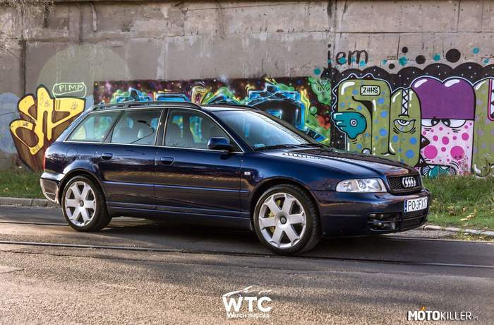 18-letnie Audi S4 B5 2.7 Biturbo – Audi S4 B5 2.7 Biturbo Quattro 420hp Fot. WTC Watch this car