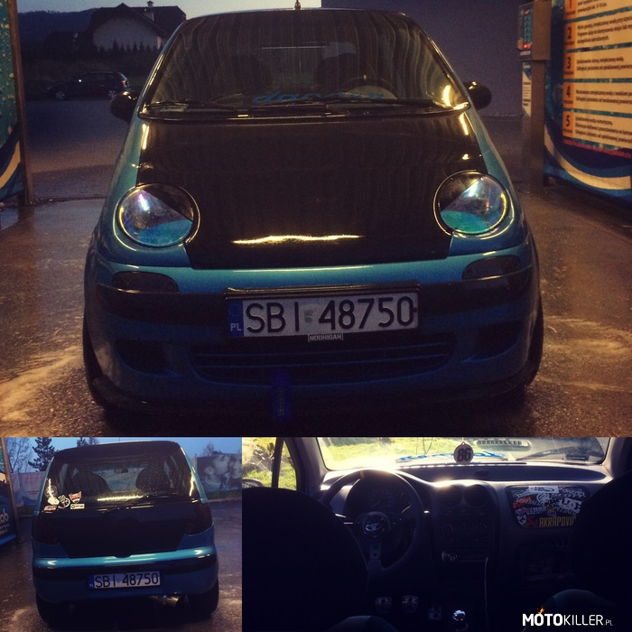 Matiz tuning by robscoot – Wash car