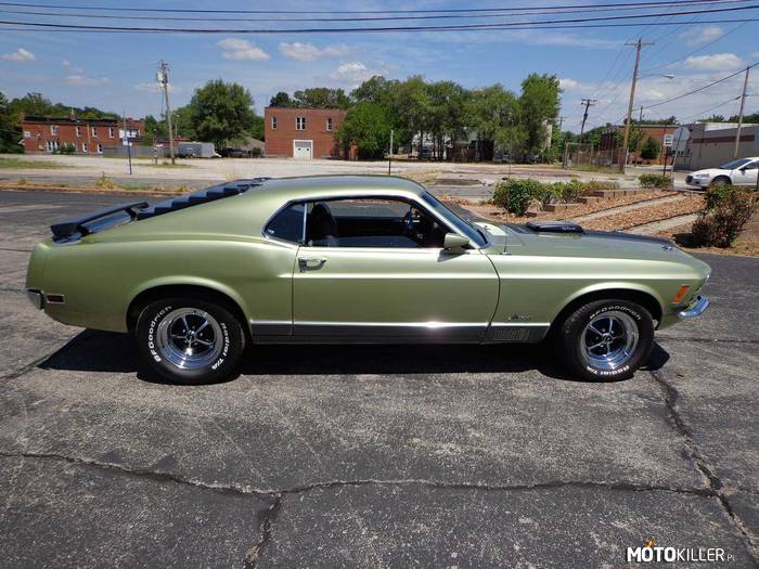 Ford Mustang Mach 1 428 Super Cobra Jet –