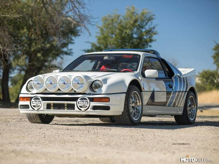 Ford RS 200 Evolution –