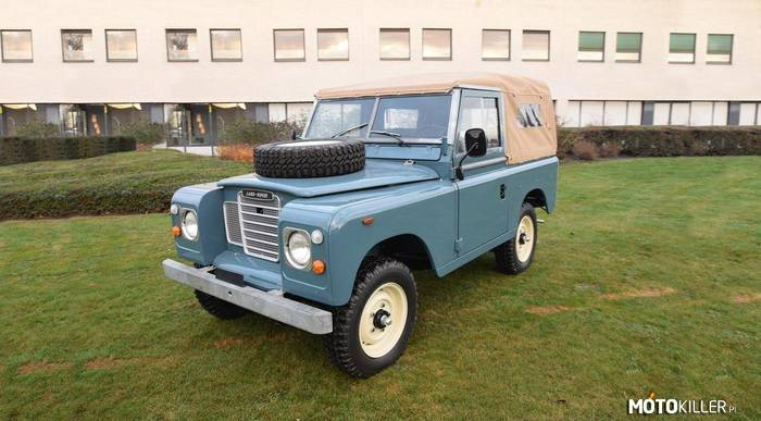 Land Rover Series III 88 –