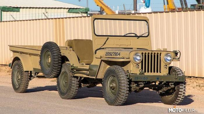 Willys M38 Military Jeep –