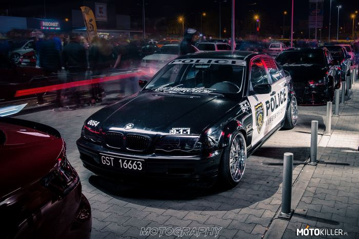BMW e46 Police Luckymotion –
