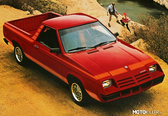 Dodge Rampage 1982-84 –