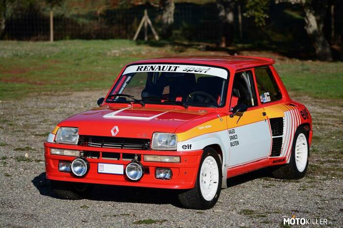 Renault 5 Turbo –