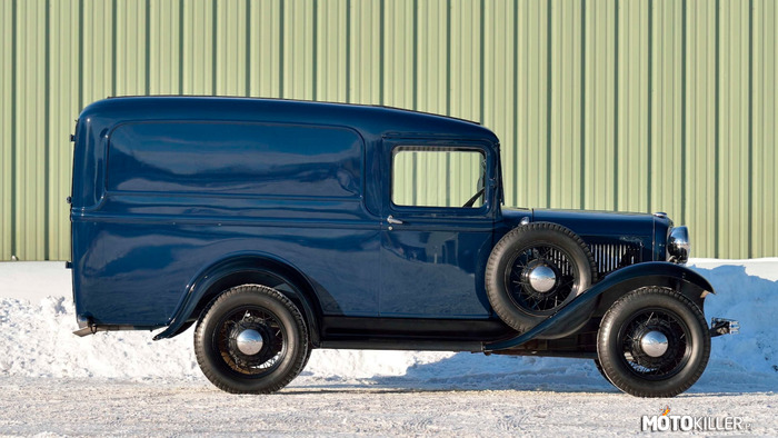 Ford Panel Truck Really 1932 –