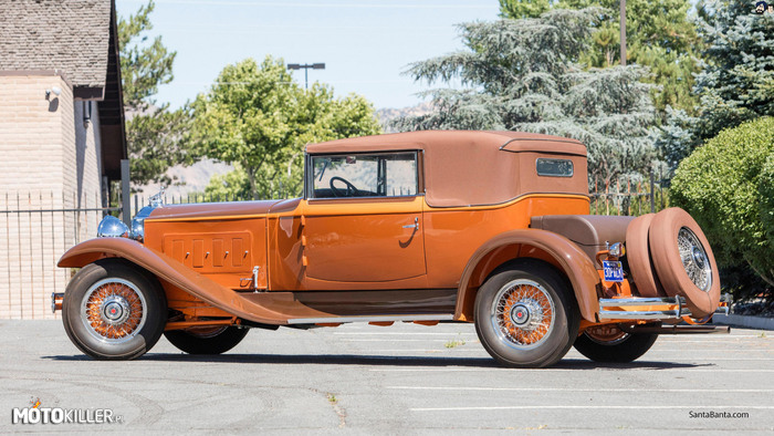 Packard Deluxe Eight Convertible Victoria 1930 –